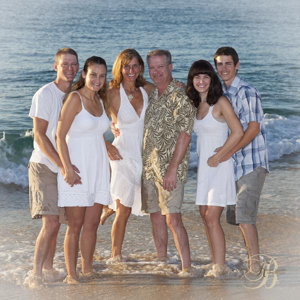 Family Portrait Cabo San Lucas