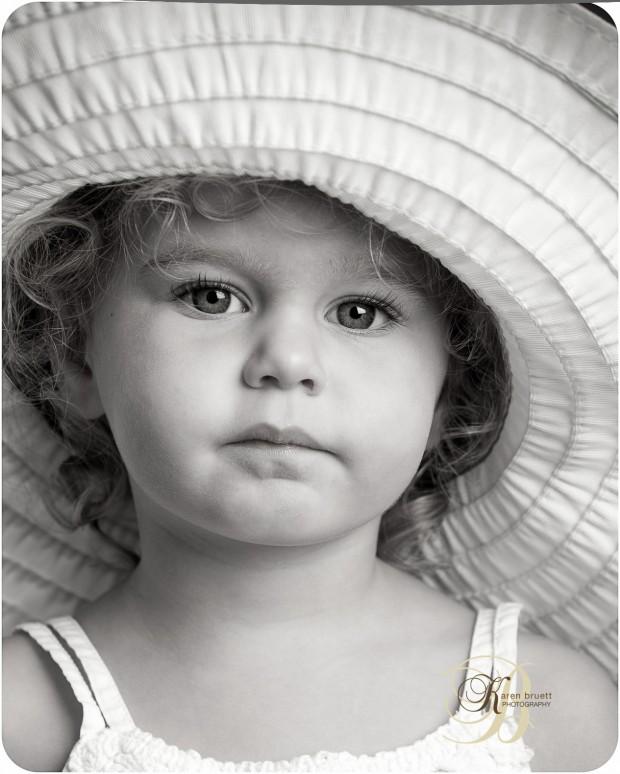 Hat Days 2013 - Austin Child Photography Session - Karen Bruett