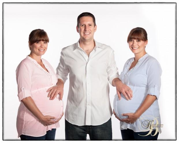 Maternity Image - Twins - Girl and Boy