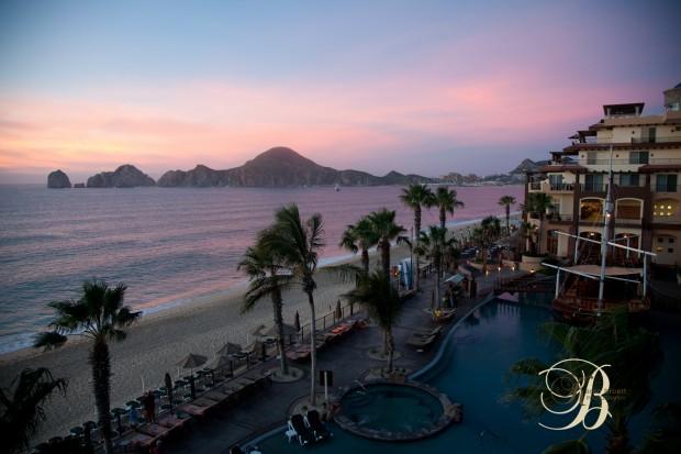 Beachfront Sunrise, Villa De Arco, Cabo San Lucas, Karen Bruett Photography